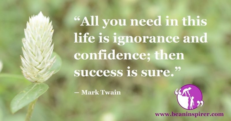 Ignoring The Wrong And Embracing The Right Confidently, Is The Thing Required To Succeed