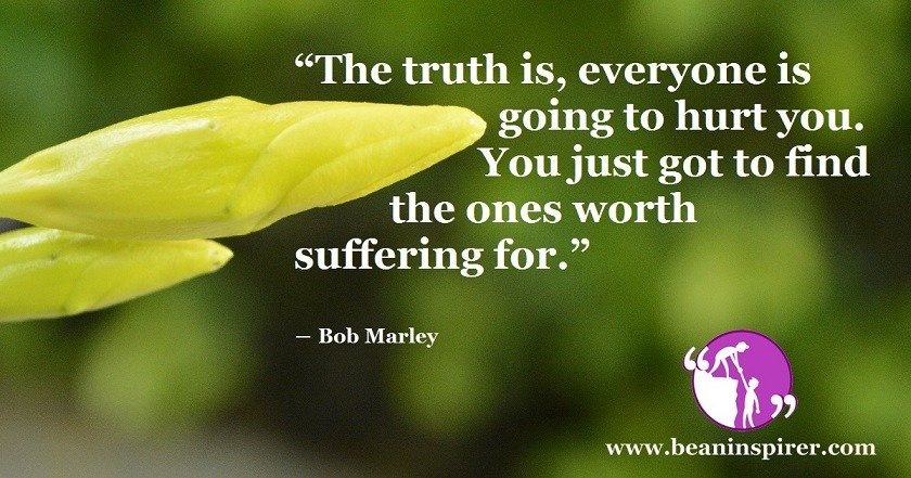 Do Not Get Hurt For The Ones Who Are Not Worth Suffering For