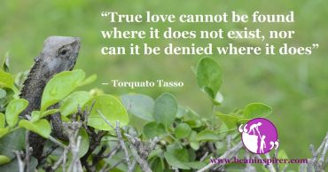 How Does One Recognise True Love?