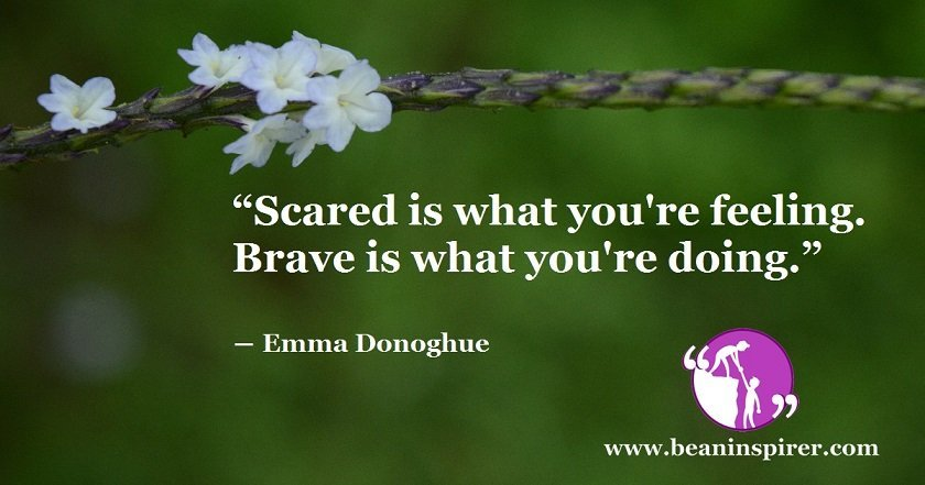 How To Be Brave When You Are Scared
