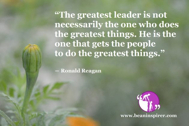 Leadership Can Change The Course Of History