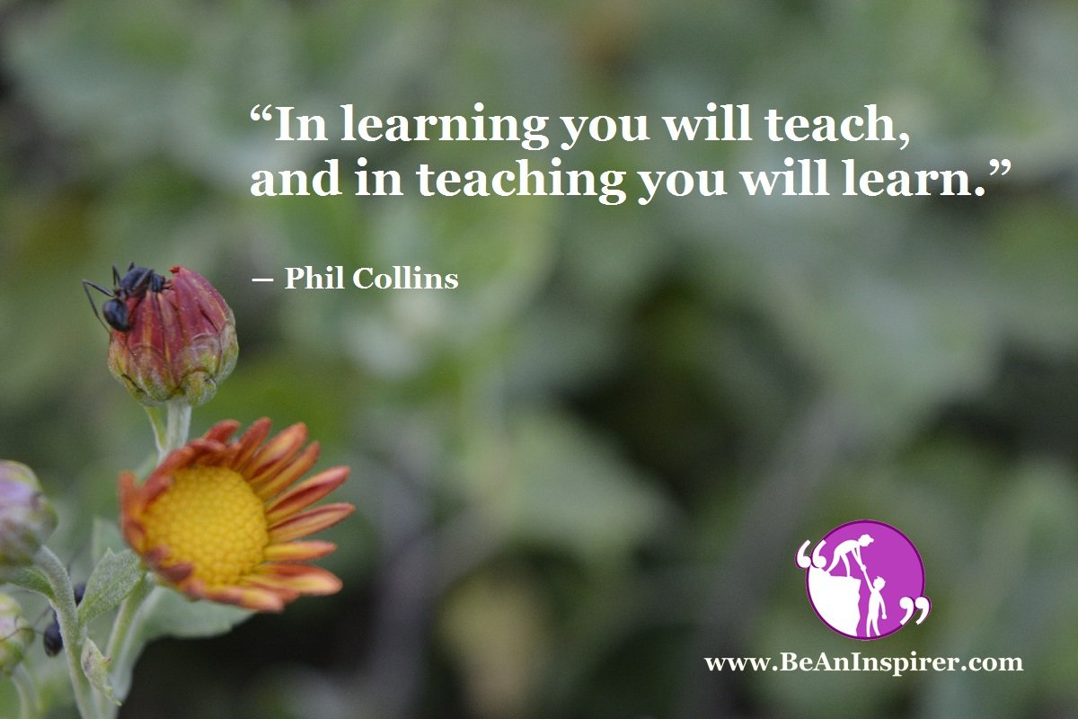 When You Learn Well, You Also Learn Teaching Well