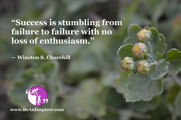 Failures Are The Signposts On The Way To Success