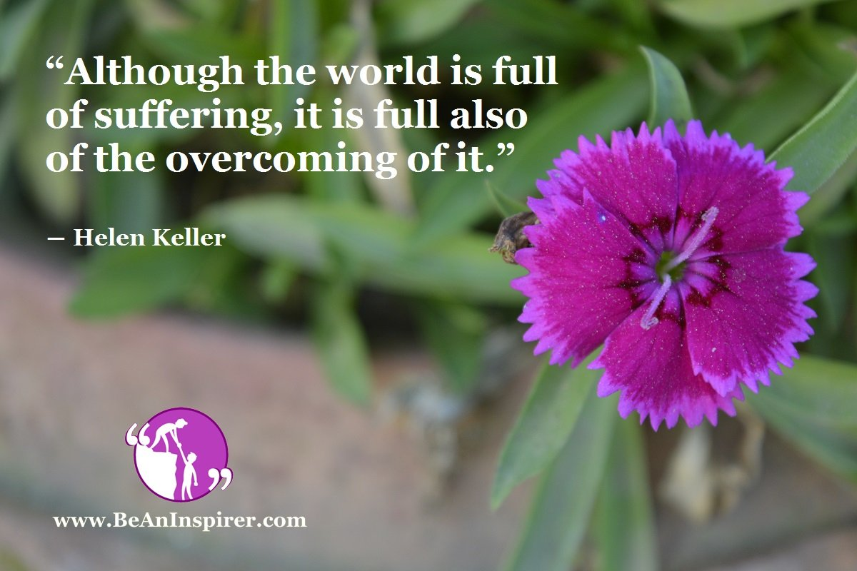 How To Overcome Sufferings And Succeed In Life?