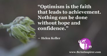 Having Optimism in Life is All What You Need for Success