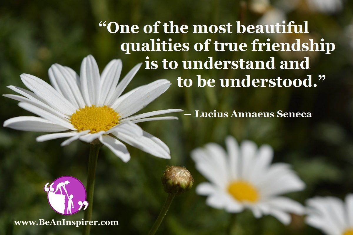To Understand and to be Understood: The Core Principle of True Friendship