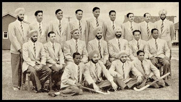 Randhir-Singh-Gentle-with-his-team-at-Summer-Olympics-Melbourne-1956-Be-An-Inspirer