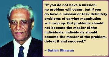 Satish Dhawan – The Father of Experimental Fluid Dynamics