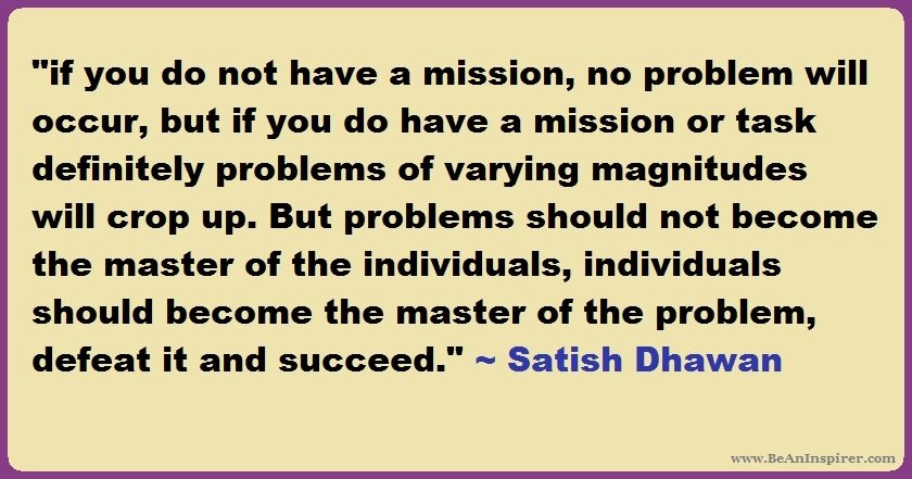Vision of Satish Dhawan