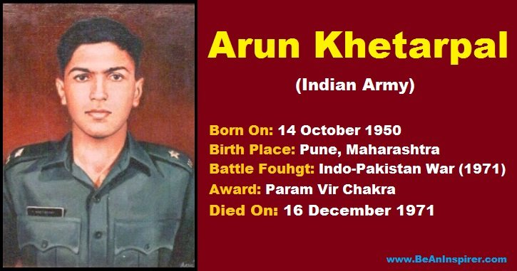 Arun-Khetarpal-The-Bravest-Officer-of-the-Indian-Army-Be-An-Inspirer
