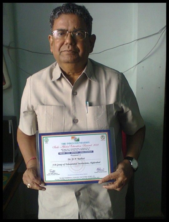 Dr.-Dwarkadas-Pralhaddas-Kothari-was-awarded-with-eminent-educationist-in-2013-Be-An-Inspirer