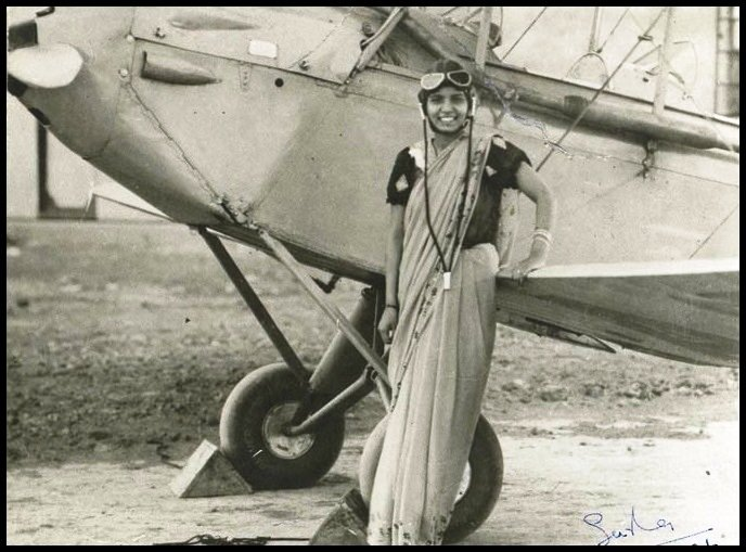 Sarla Thakral – The First Woman to Fly an Aircraft in India