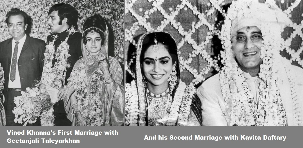Vinod-Khannas-First-Marriage-with-Geetanjali-Taleyarkhan-And-his-Second-Marriage-with-Kavita-Daftary-Be-An-Inspirer