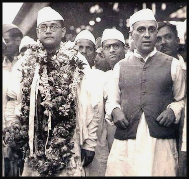 Jawaharlal-Nehru-with-Netaji-Subhash-Chandra-Bose-Be-An-Inspirer