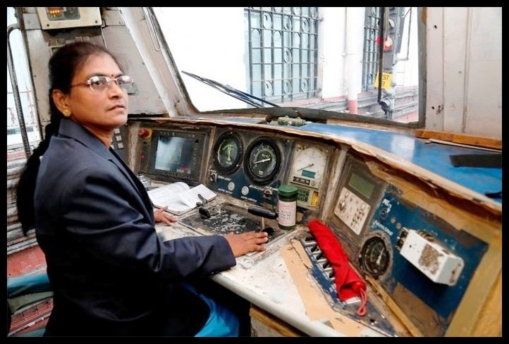 India's First Female Train Driver – Hear Out The Story of Surekha Yadav...