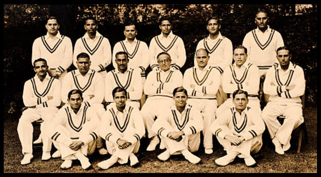 Indian-cricket-team-on-England-tour-1936-Syed-Mushtaq-Ali-seated-on-front-row-extreme-left-Be-An-Inspirer
