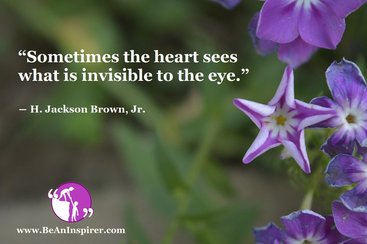 A Kind Heart Sees More Than A Keen Eye
