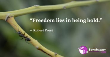 Freedom is the Basic Right of Every Living Being