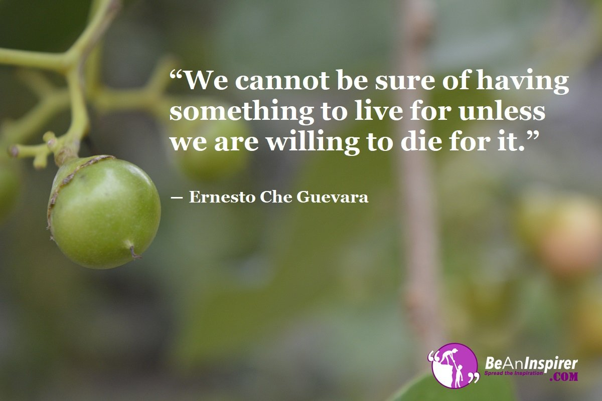 We-cannot-be-sure-of-having-something-to-live-for-unless-we-are-willing-to-die-for-it--Ernesto-Che-Guevara-Quote-on-Bravery-Be-An-Inspirer