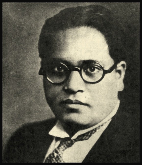 Dr. B.R. Ambedkar in his young days