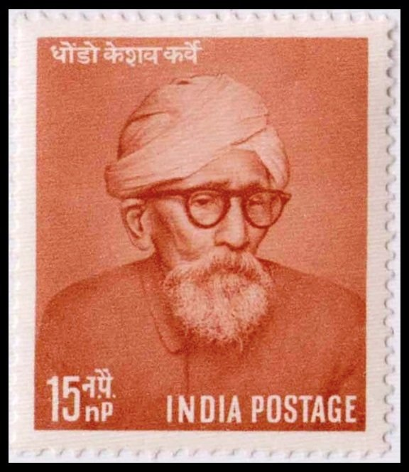 The First Living Personality on Indian Stamp after Independence, when this stamp was issued on his 100th birthday on April 18, 1958.