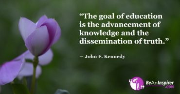 Realizing the Goal of Education: The Advancement of Knowledge and Circulation of Truth