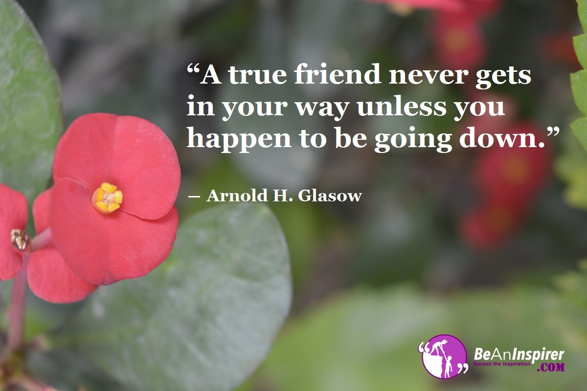 A-true-friend-never-gets-in-your-way-unless-you-happen-to-be-going-down-Arnold-H-Glasow-Friendship-Quotes-Be-An-Inspirer