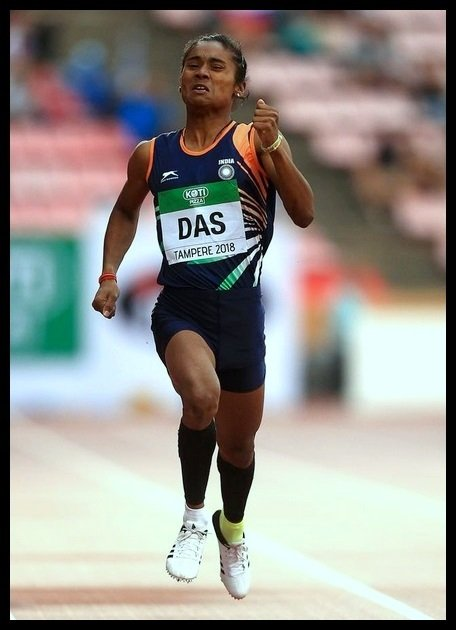 Hima-Das-The-First-Indian-Woman-Athlete-To-Earn-A-Gold-Medal-At-World-Level-In-Track-Event-First-Indian-Be-An-Inspirer