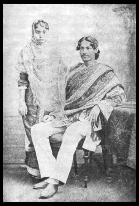 Rabindranath-Tagore-with-his-wife-Mrinalini-Devi-Be-An-Inspirer