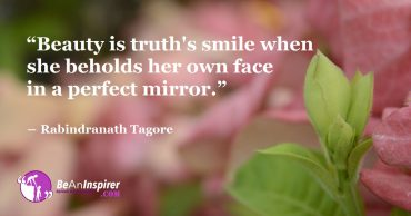 Beauty Emanates From Within. Let Your Light Shine Through