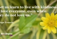 Show Up Being Kind. Do Kind Things For Others