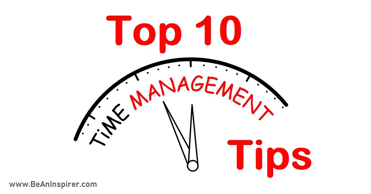 Top 10 Time Management Tips