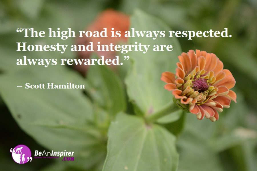 Role of Honesty and Integrity in the Development of One's Life