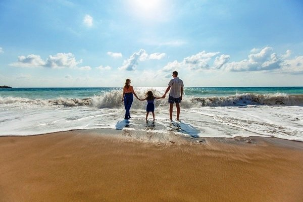 1. Go To A Beach - 5 Best Family Vacation Ideas To Get You Started