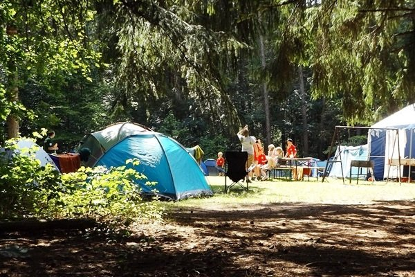 3. Go Camping - 5 Best Family Vacation Ideas To Get You Started