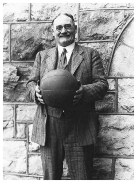 James Naismith - Physical Educator who First Designed the Game of Basketball in 1891