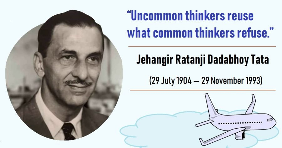 J.R.D. Tata – Business Tycoon Who Pioneered Civil Aviation In India