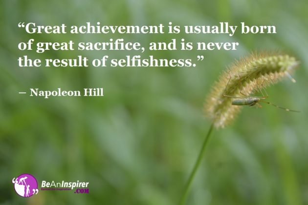 4 Things Successful People Sacrifice for Achievement