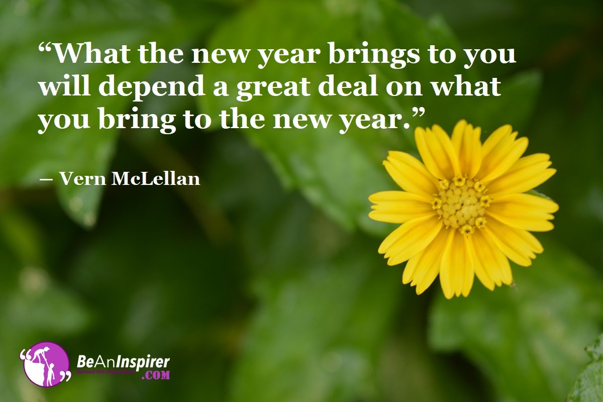 Inspirational Happy New Year Quotes