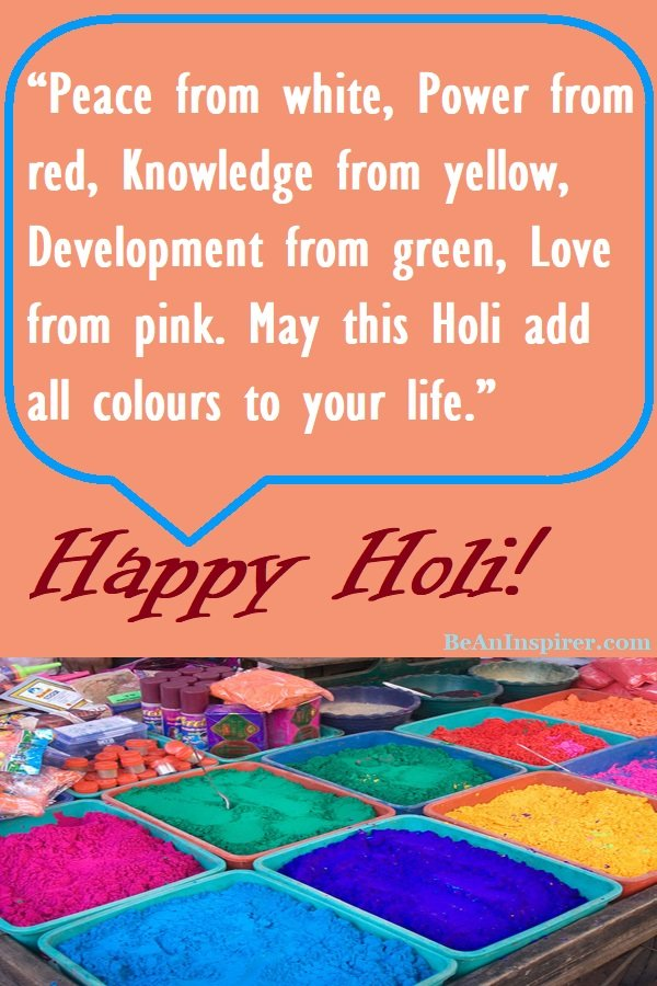 135 Happy Holi Quotes and Wishes for Friends and Family