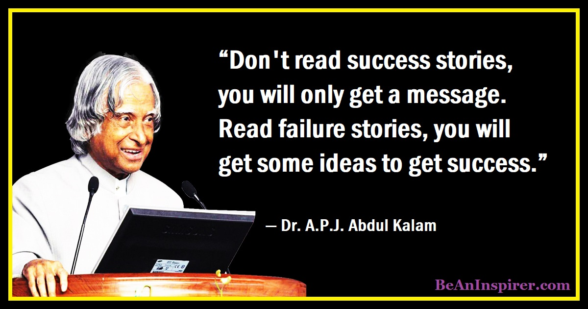 111 Thoughtful Quotes by Dr. APJ Abdul Kalam